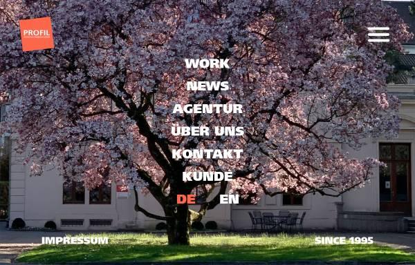 Vorschau von www.profildesign.ch, Profil Design