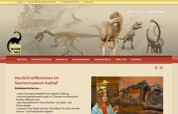 Vorschau von www.sauriermuseum.ch, Aathal, Sauriermuseum