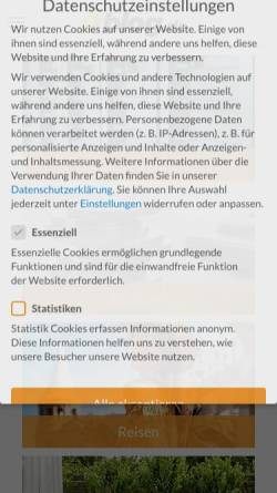 Vorschau der mobilen Webseite dinosaurier-news.blog.de, Dinosaurier-News