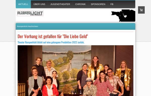 Vorschau von www.rampenlicht.at, Theatergruppe Rampenlicht