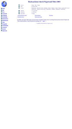 Vorschau der mobilen Webseite www.stefansreisen.de, Stefan's Reisen um die Welt [Stefan Helmbrecht]