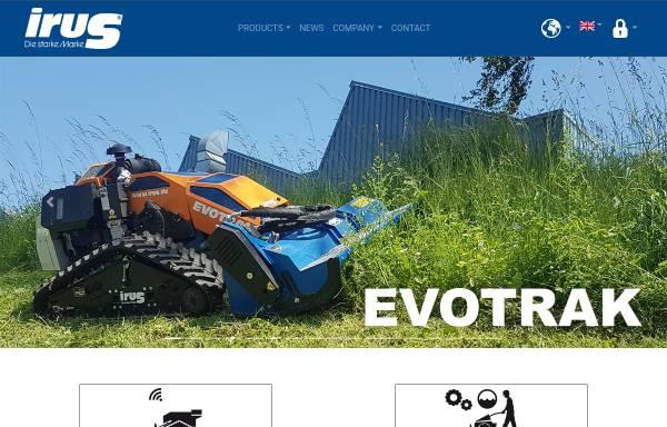 Vorschau von www.irus.de, IRUS Motorgeräte GmbH