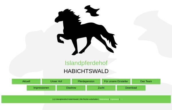 Vorschau von www.islandpferdehof-habichtswald.de, Islandpferdehof Habichtswald