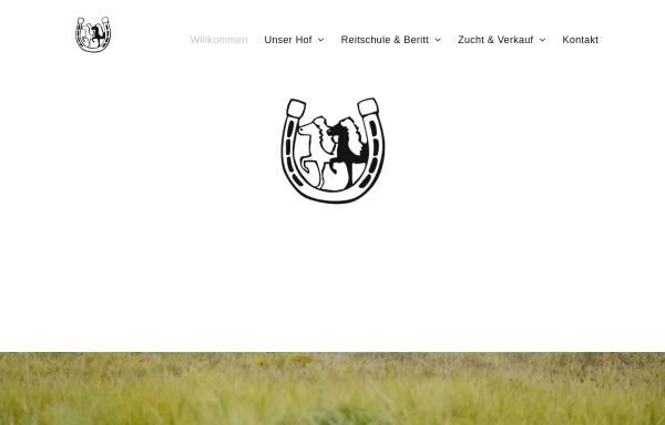 Vorschau von www.islandpferdehof.de, Islandpferdehof Seppensen