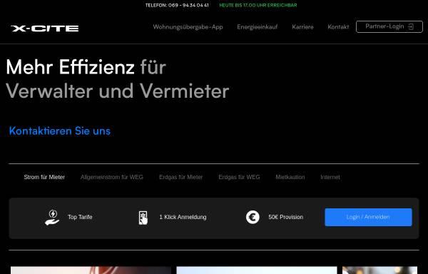 Vorschau von www.x-cite.de, Promotionagentur X-Cite GmbH