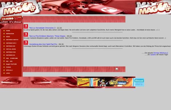 Vorschau von www.mag64.de, Mag64 Headquarter