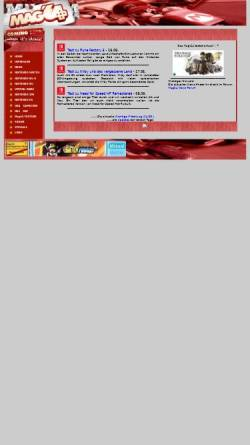 Vorschau der mobilen Webseite www.mag64.de, Mag64 Headquarter
