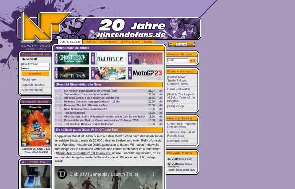 Vorschau von www.nintendofans.de, NintendoFans.de