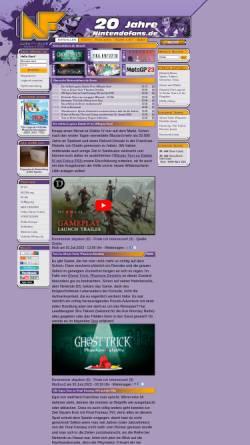 Vorschau der mobilen Webseite www.nintendofans.de, NintendoFans.de
