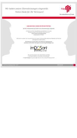 Vorschau der mobilen Webseite www.puetz-verkaufsfoerderung.de, Pütz Verkaufsförderung GmbH
