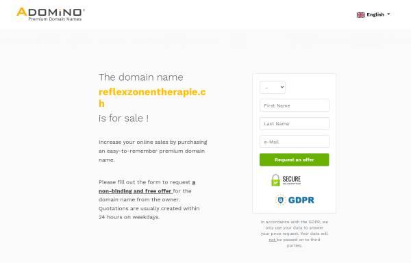 Vorschau von www.reflexzonentherapie.ch, VRZF - Verband Reflexzonentherapie am Fuss