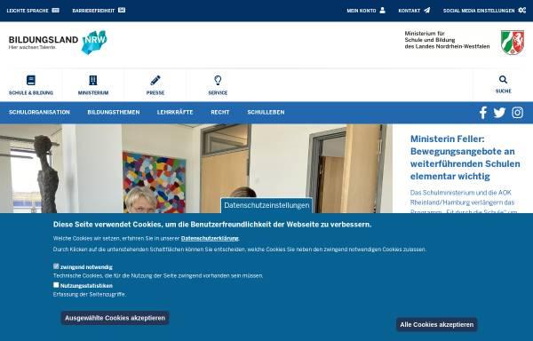 Vorschau von www.bildungsportal.nrw.de, Bildungsportal NRW