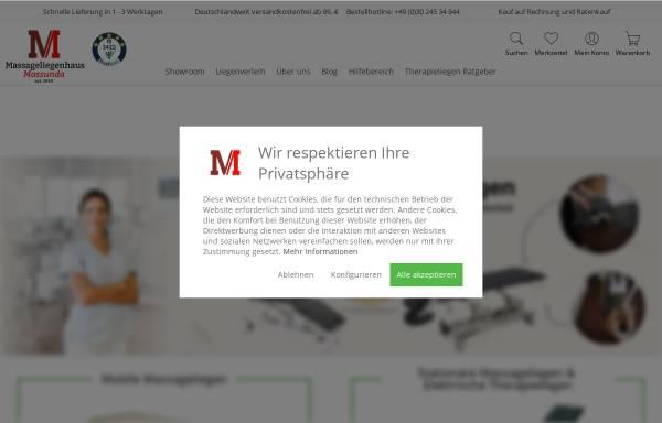 Vorschau von massunda.com, MASSUNDA Inh. D. Weißbach