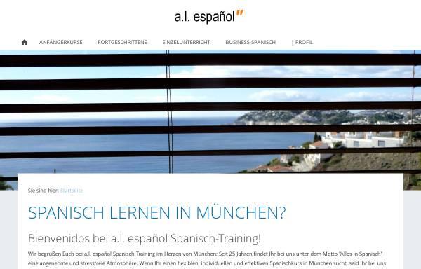 Vorschau von www.al-espanol.de, A.L. Español