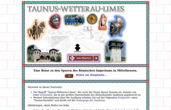 Vorschau von www.taunus-wetterau-limes.de, Taunus-Wetterau-Limes