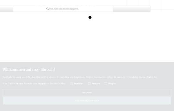 Vorschau von www.nzz-libro.ch, NZZ Libro - Buchverlag Neue Zürcher Zeitung