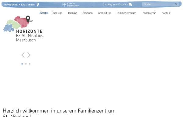 Vorschau von nikolaus-osterath.kita-horizonte.de, Katholischer Kindergarten St. Nikolaus