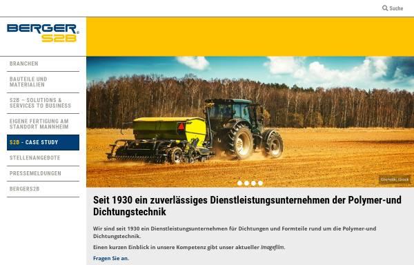 Vorschau von www.bergers2b.com, Berger S2B GmbH