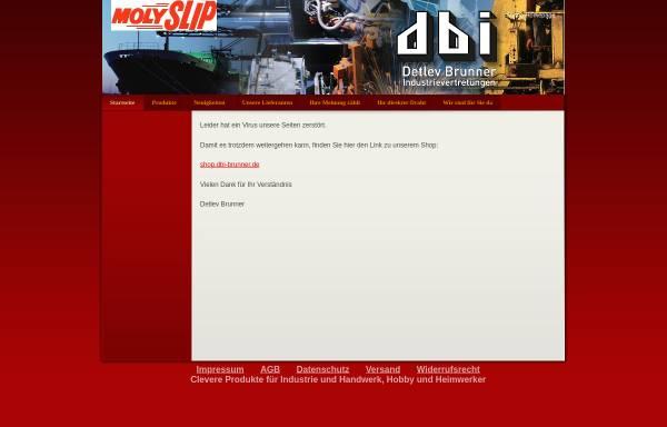 Vorschau von www.dbi-brunner.de, DBI Detlev Brunner Industrievertretungen