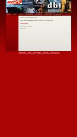Vorschau der mobilen Webseite www.dbi-brunner.de, DBI Detlev Brunner Industrievertretungen