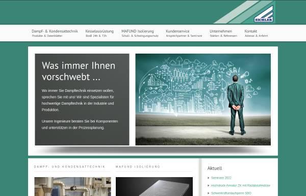 Vorschau von www.eichler.at, Eichler KG