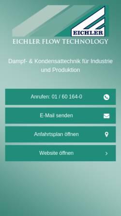 Vorschau der mobilen Webseite www.eichler.at, Eichler KG