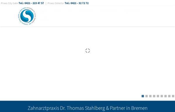 Vorschau von www.stahlberg-partner.de, Zahnarztpraxis Dr. med. dent. Thomas Stahlberg