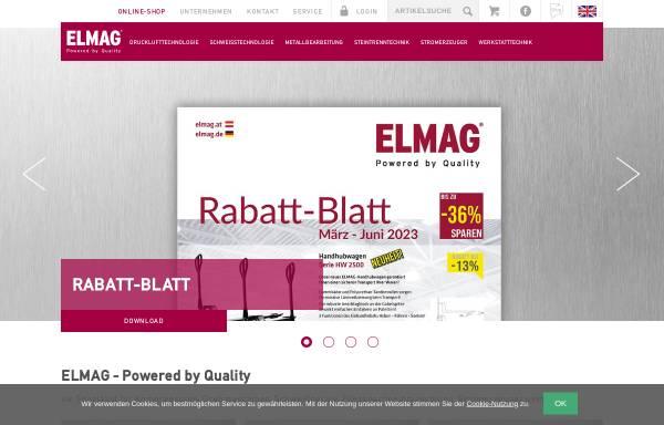 Vorschau von www.elmag.at, ELMAG Entwicklungs- und Handelsges.m.b.H.