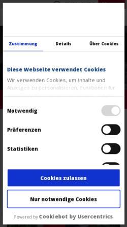 Vorschau der mobilen Webseite www.haake-technik.com, Haake Technik GmbH