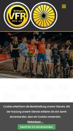 Vorschau der mobilen Webseite www.spurt-in-den-mai.de, Radsport in Büttgen mit dem Spurt in den Mai