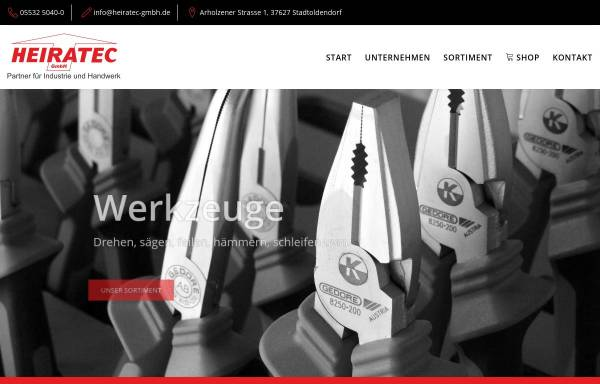 Vorschau von www.heiratec-gmbh.de, Heiratec GmbH