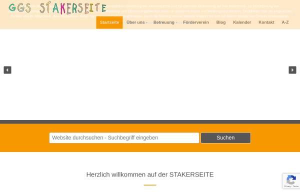 Vorschau von www.stakerseite.de, Grundschule Stakerseite - städtische Gemeinschaftsgrundschule