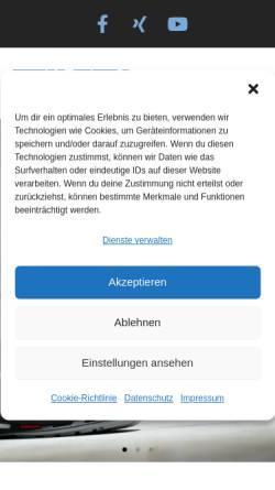 Vorschau der mobilen Webseite www.evers-industriebedarf.de, Herm. Evers Industriebedarf