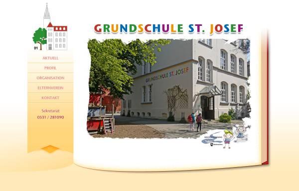 Vorschau von www.gs-st-josef.de, Grundschule St. Josef