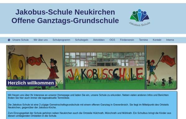 Vorschau von www.jakobusschule.de, Jakobus-Schule Gemeinschaftsgrundschule Neukirchen