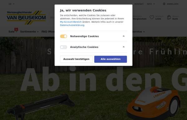 Vorschau von www.van-beusekom.de, J. van Beusekom