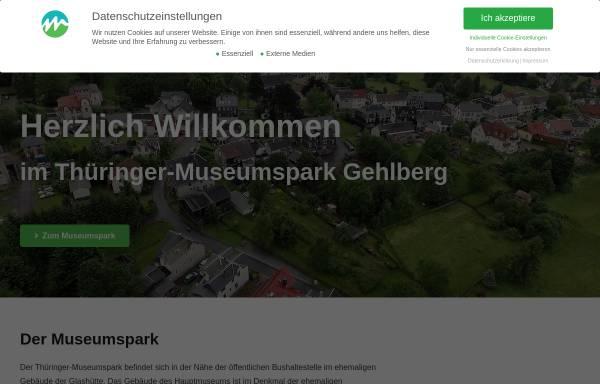 Vorschau von thueringer-museumspark.de, Museum der Gehlberger Glastradition