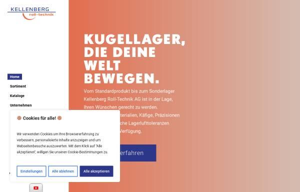 Vorschau von www.kellenberg.ch, Kellenberg Roll-Technik AG