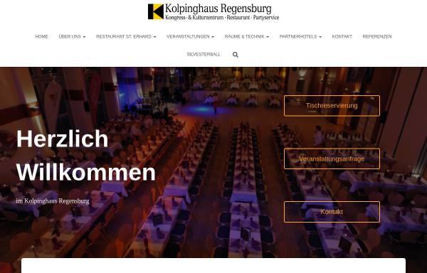 Vorschau von www.kolpinghaus-regensburg.de, Kolpinghaus