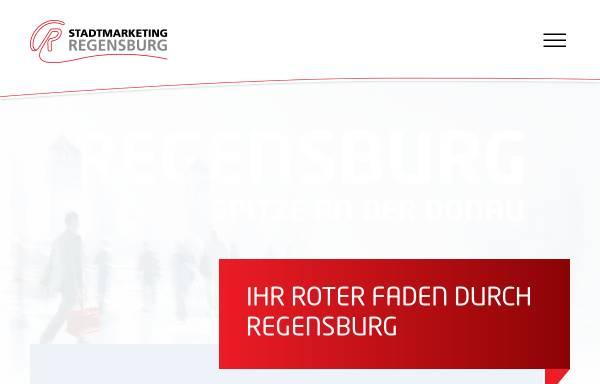 Vorschau von www.stadtmarketing-regensburg.de, Stadtmarketing-Regensburg e.V.