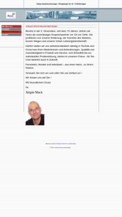 Vorschau der mobilen Webseite www.kuebler-vertretungen.de, Kübler Industrievertretung