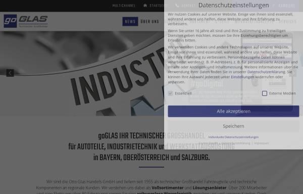 Vorschau von www.go-glas.de, Otto Glas Handels-GmbH