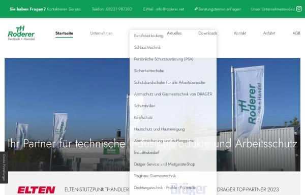 Vorschau von www.roderer.net, Rokö Roderer GmbH