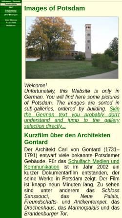 Vorschau der mobilen Webseite www.p-labs-potsdam.de, Diashow Potsdam