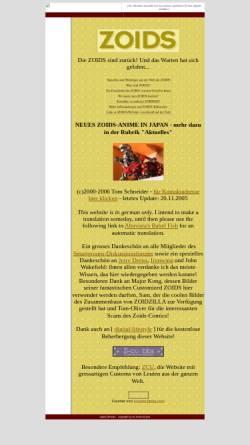 Vorschau der mobilen Webseite www.digital-lifestyle.ch, Die Zoids