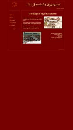 Vorschau der mobilen Webseite www.alte-ansichtskarten.at, Alte Ansichtskarten