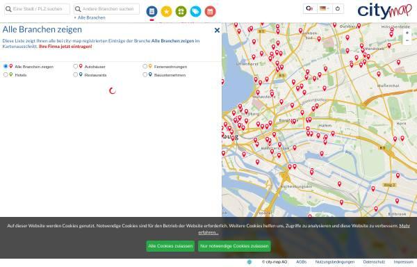 Vorschau von hamburg.city-map.de, City-map Hamburg