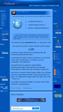 Vorschau der mobilen Webseite www.firstfish.de, Ingo Bertelmann