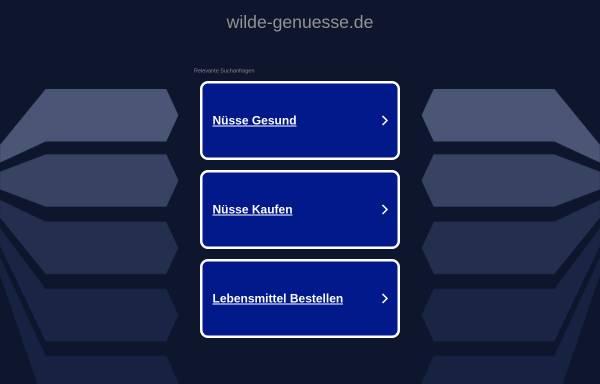 Vorschau von www.wilde-genuesse.de, Wilde-Genüsse