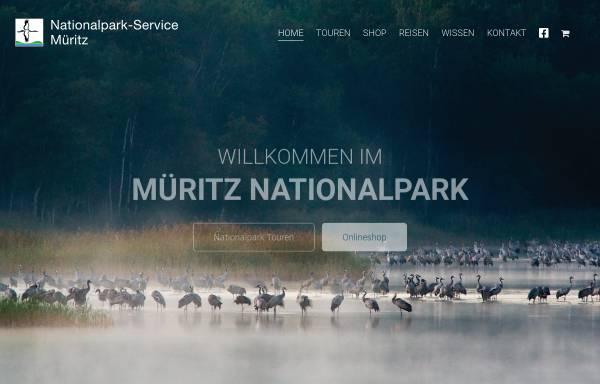 Vorschau von www.nationalpark-service.de, Nationalpark-Service Müritz Axel Schultz